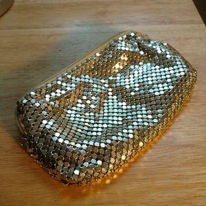 Cintagw silver mesh bag